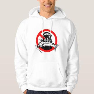 Salmon Thief Men's Basic Hooded Sweatshirt