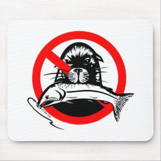 Salmon Thief Mouse Pad