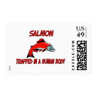 Salmones atrapados en un cuerpo humano