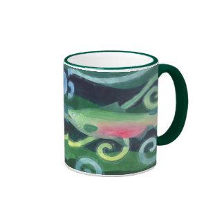 Salmones de Chinook Tazas De Café