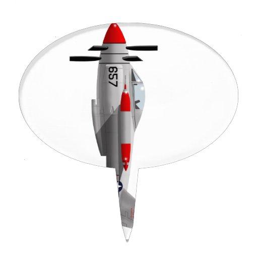 Salmones de Lockheed XFV-1 Decoración Para Tarta