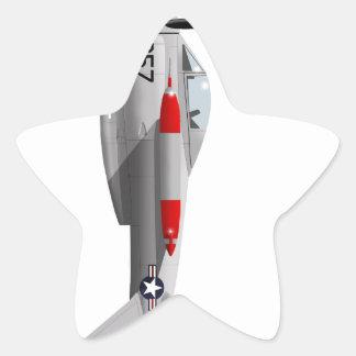Salmones de Lockheed XFV-1 Pegatina En Forma De Estrella