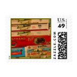 Salmones del vintage sello