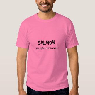 SALMONES, la otra carne rosada Poleras