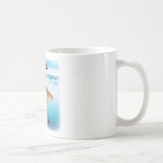 salmones taza de café