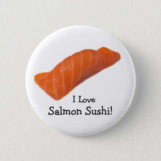 salmonsushi, I Love , Salmon Sushi! Button
