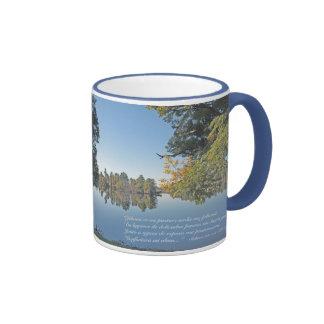 Salmos 23:1-3 (Taza) Ringer Mug