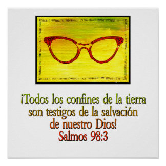 Salmos 98:3 poster