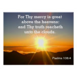 Salmos - escritura posters