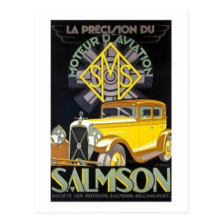 Salmson Autombiles - aviación de Moteur D Postal