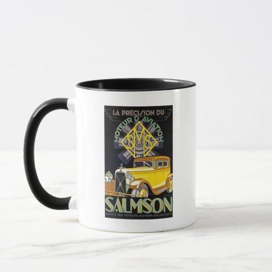 Salmson Autombiles - Moteur D' Aviation Mug