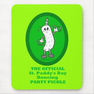 Salmuera del fiesta de baile del día de St Patrick Alfombrillas De Raton