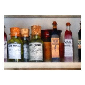 Salmueras salsa de tomate y salsa Worcestershire Invitacion Personalizada