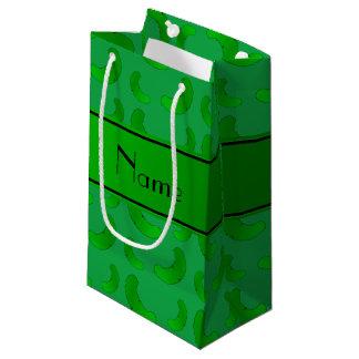 Salmueras verdes verdes conocidas personalizadas bolsa de regalo pequeña