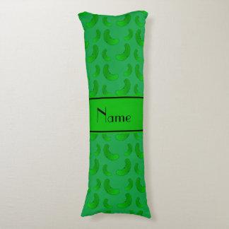 Salmueras verdes verdes conocidas personalizadas cojin cama
