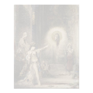 Salome and the Apparition by Gustave Moreau Letterhead