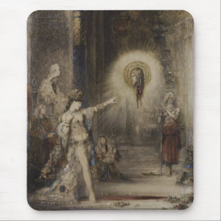 Salome and the Apparition by Gustave Moreau Mouse Pad