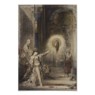 Salome and the Apparition by Gustave Moreau Photo Print