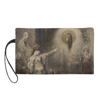 Salome and the Apparition by Gustave Moreau Wristlet Purse