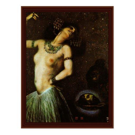 Salome By Franz Von Stuck Post Cards
