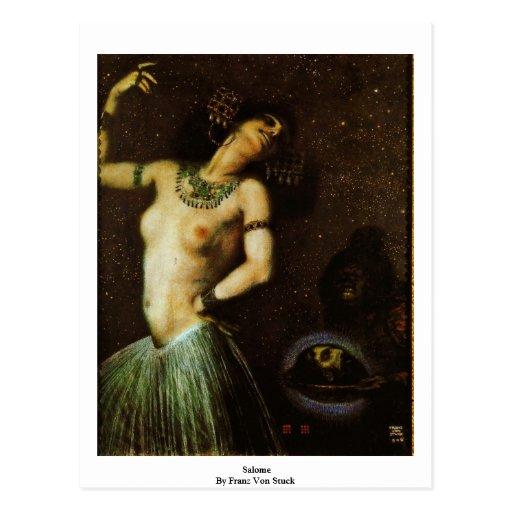 Salome By Franz Von Stuck Post Card