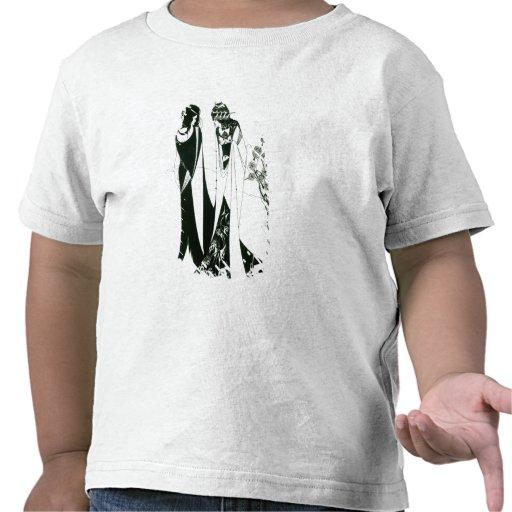Salome con su madre, Herodias, 1894 (litho) (b Camiseta