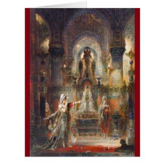 Salome Dancing 1876 Card