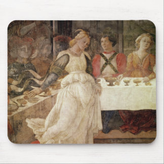 Salome dancing at the Feast of Herod Mouse Pad
