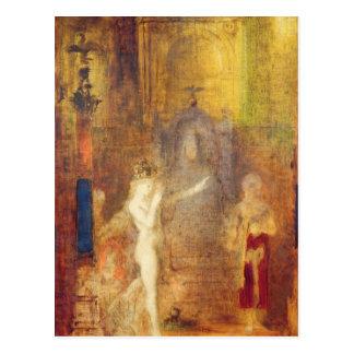 Salome dancing before Herod, c.1876 Postcard