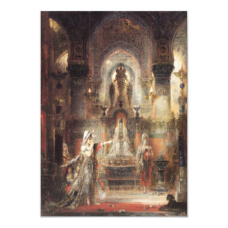 Salome Dancing Before Herod Card