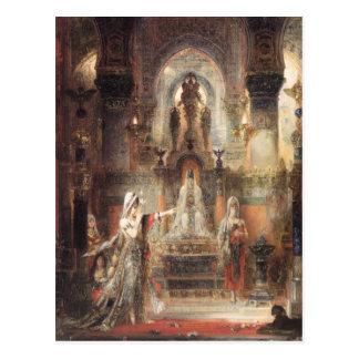 Salome Dancing Before Herod Postcard