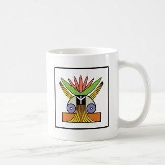 Salome Peace Symbol Classic White Coffee Mug