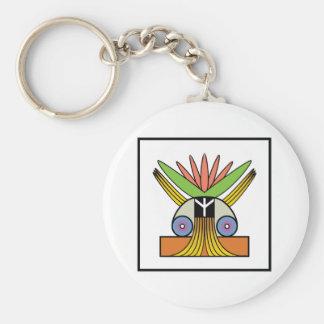 Salome Peace Symbol Keychain