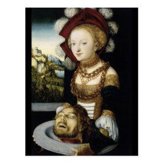 Salome With Head of John Baptist Postcard