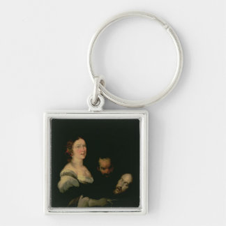 Salome with the head of St. John the Baptist Keychain