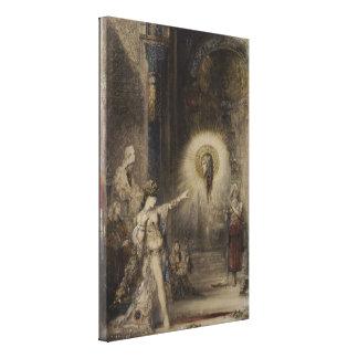 Salome y la aparición de Gustave Moreau Impresiones En Lienzo Estiradas