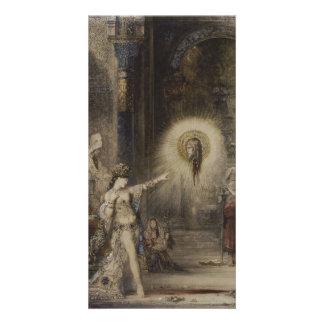 Salome y la aparición de Gustave Moreau Tarjetas Fotográficas