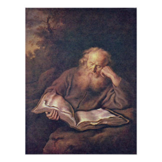 Salomon Koninck - The Hermit Poster