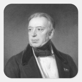 Salomon Mayer von Rothschild Pegatina Cuadrada