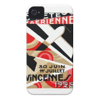 Salón aeronáutico 1928 de París iPhone 4 Case-Mate Cobertura