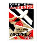 Salón aeronáutico 1928 de París Tarjetas Postales