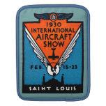 Salón aeronáutico 1930 de St. Louis Manga De iPad