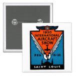 Salón aeronáutico 1930 de St. Louis Pin