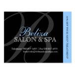 Salon and Spa Advertising Postcard