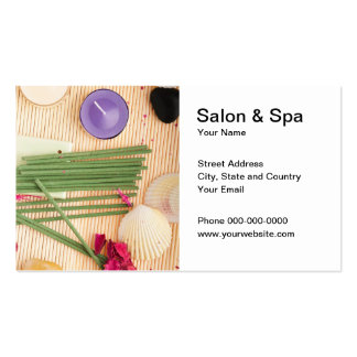Salon and Spa Business Card Business Cards