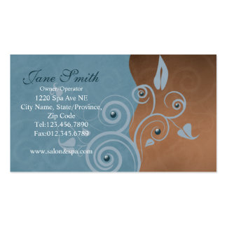 salon and spa business card