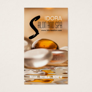 Salon and Spa Business Card Template