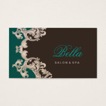 Salon business cards spa business cards mgdezigns salon and spa elegant luxe business card reheart Choice Image