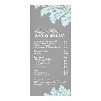 Salon and Spa Service Menu