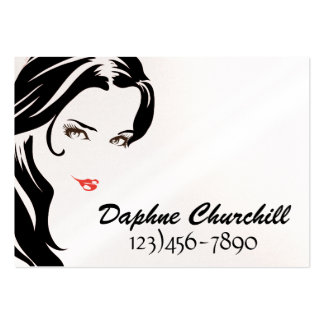 Salon Appointment Card - SRF Large Business Cards (Pack Of 100)